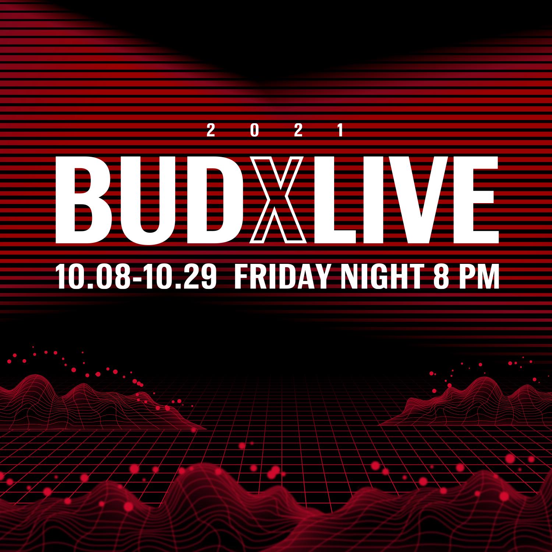 【2021 BUDXLIVE】家家、李英宏等歌手陪你線上狂歡 LINE MUSIC 10/8起每周五晚間八點直播